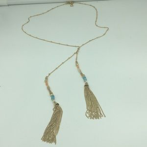 Tassel Necklace, never used
